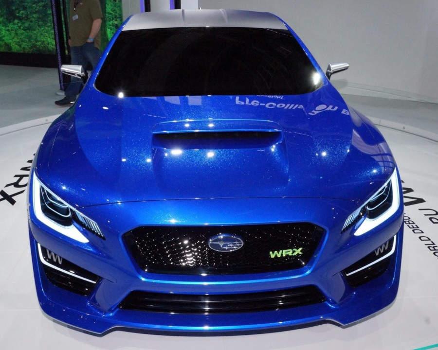 фары и бампер Subaru WRX Concept 2013