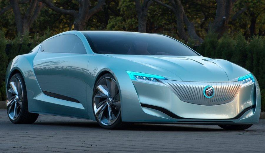 фары и бампер концепта Buick Riviera 2013
