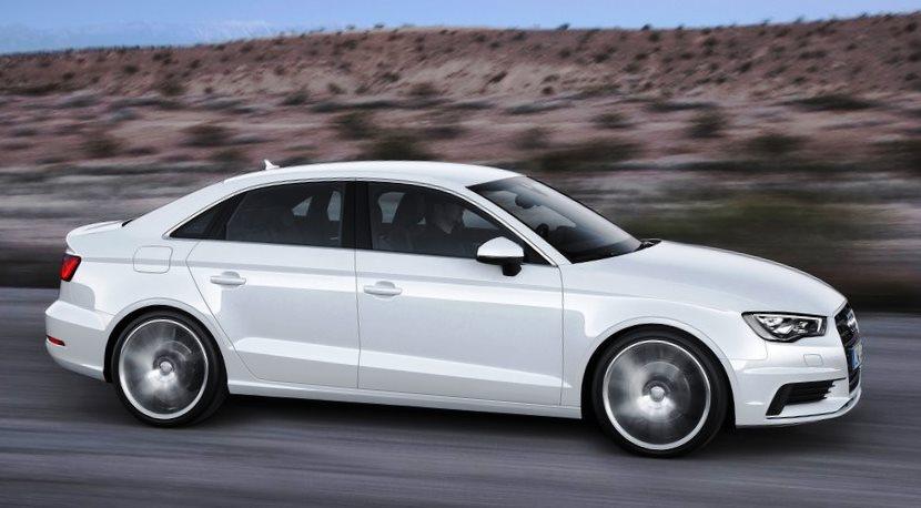 фото Audi A3 Sedan 2014 сбоку