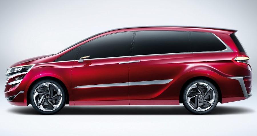 фото Honda M Concept 2014 сбоку