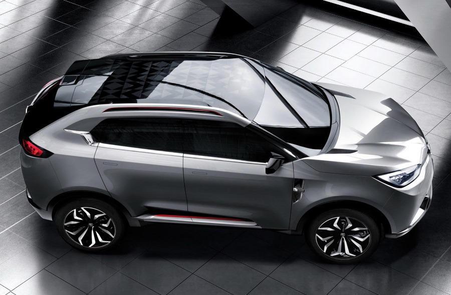 фото MG CS Concept 2013 сверху