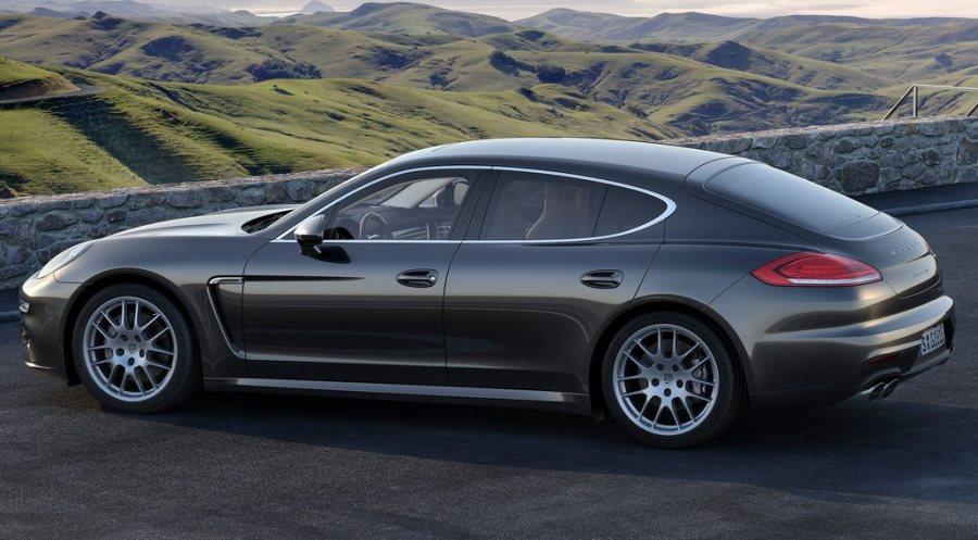 фото Porsche Panamera 2014 сбоку