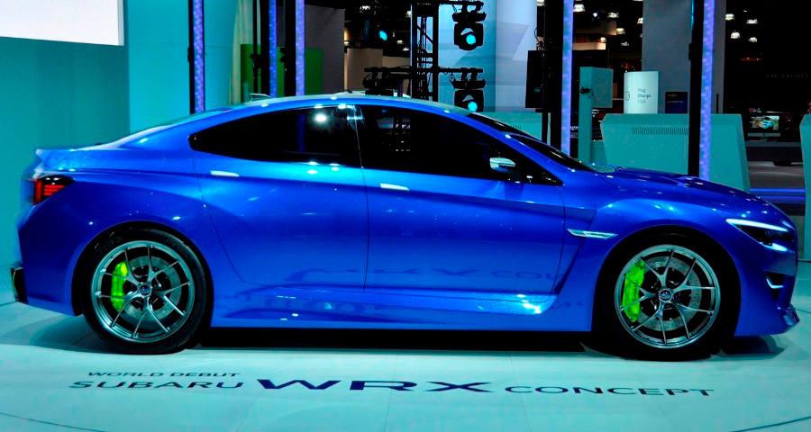фото Subaru WRX Concept 2013 сбоку
