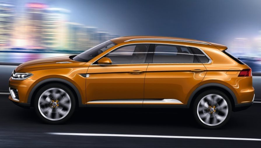 фото Volkswagen CrossBlue Coupe Concept сбоку