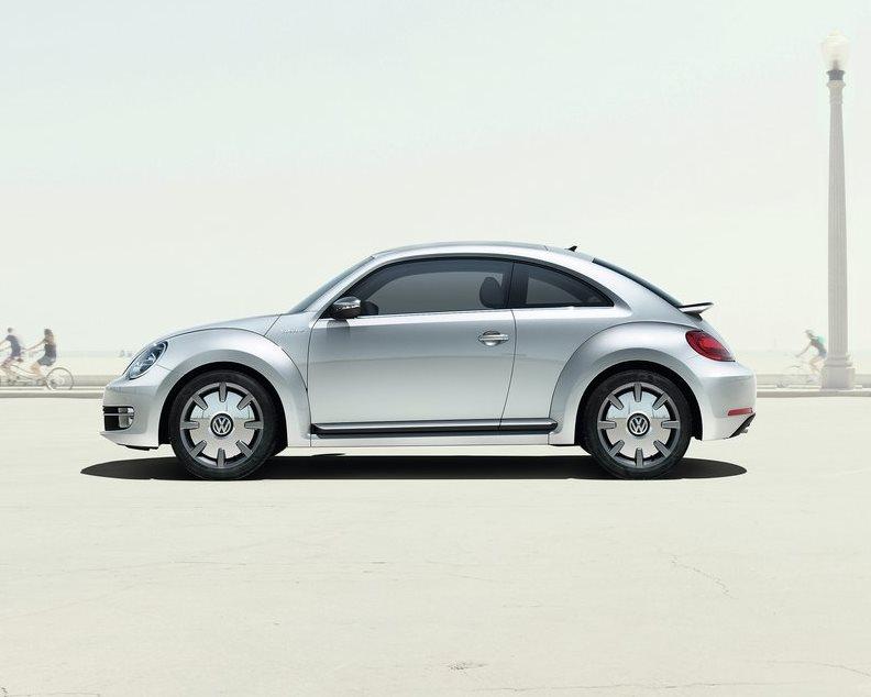 фото Volkswagen iBeetle сбоку