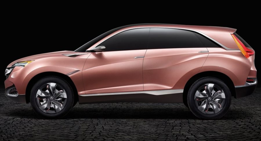 фото концепта Acura SUV-X 2013 сбоку