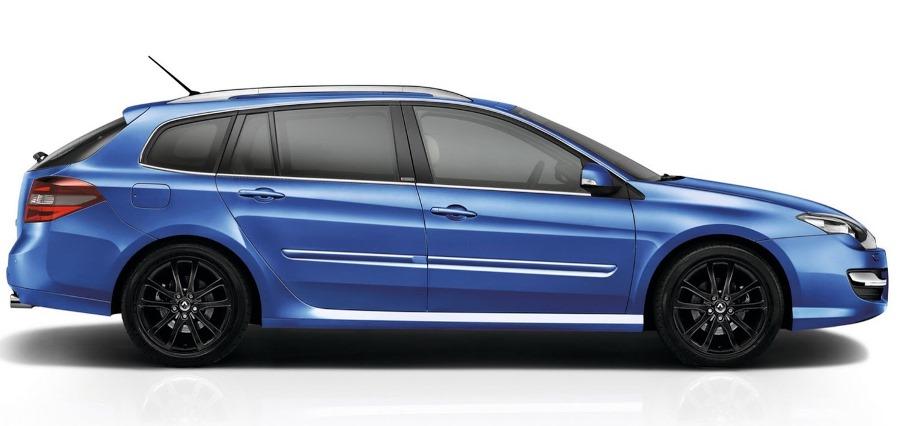 фото универсала Renault Laguna 2014 сбоку