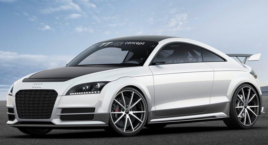 концепт Audi TT ultra quattro 2013