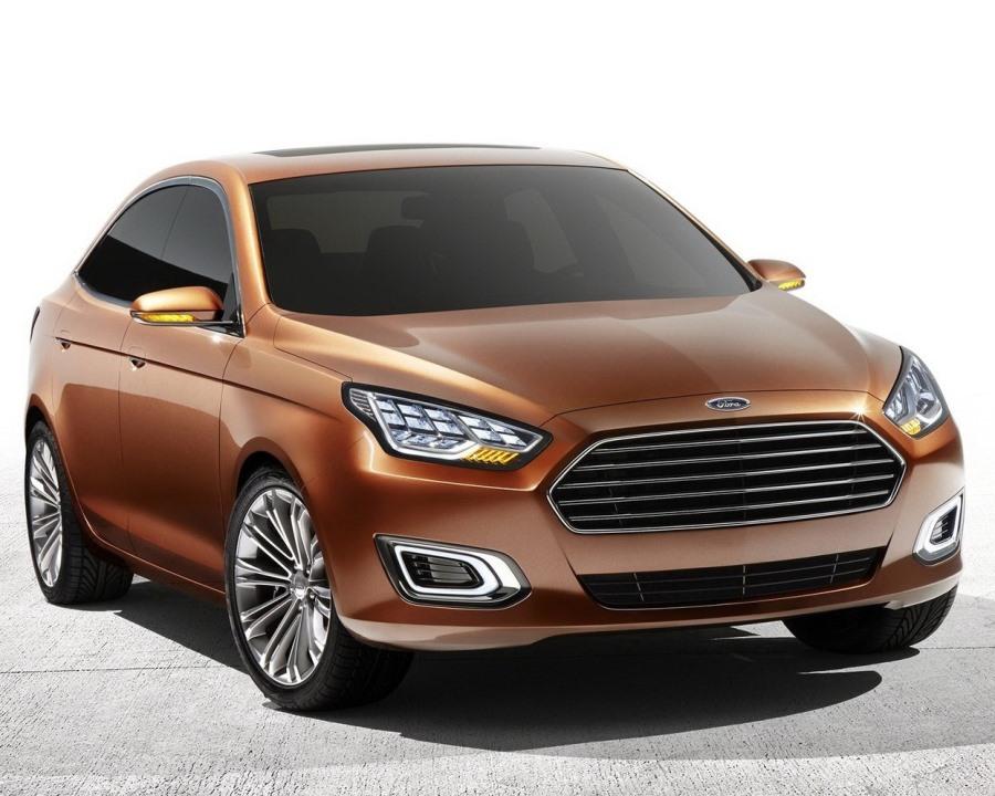 концепт Ford Escort 2013