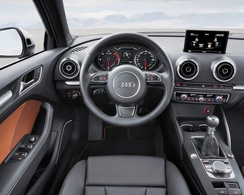 салон Audi A3 Sedan 2014