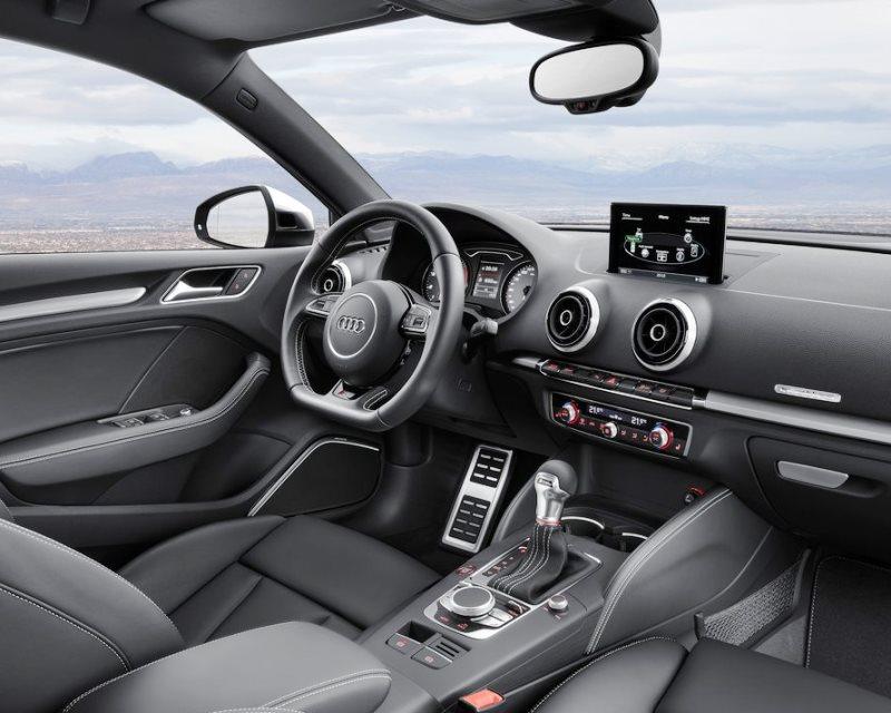 салон Audi S3 Sedan 2014
