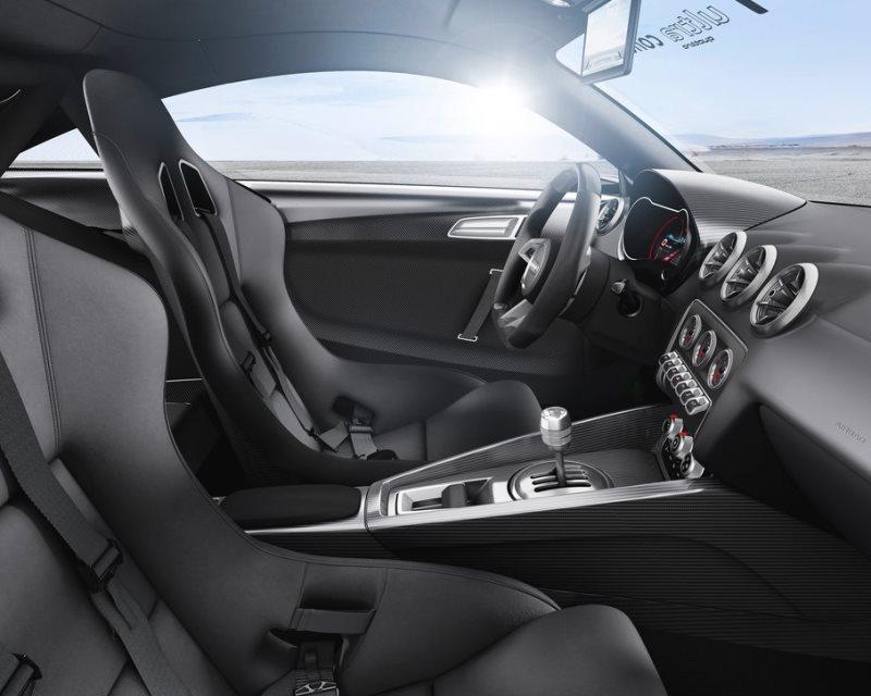 салон Audi TT ultra quattro Concept