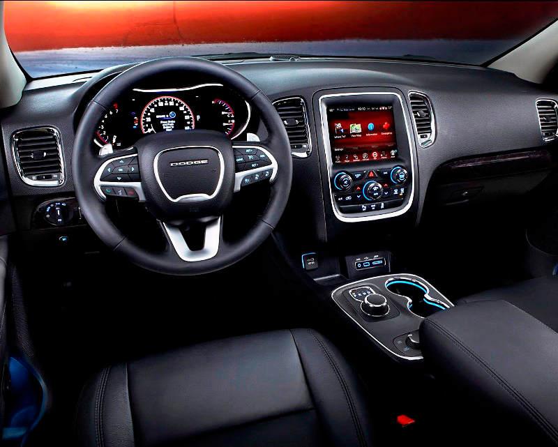 салон Dodge Durango 2014