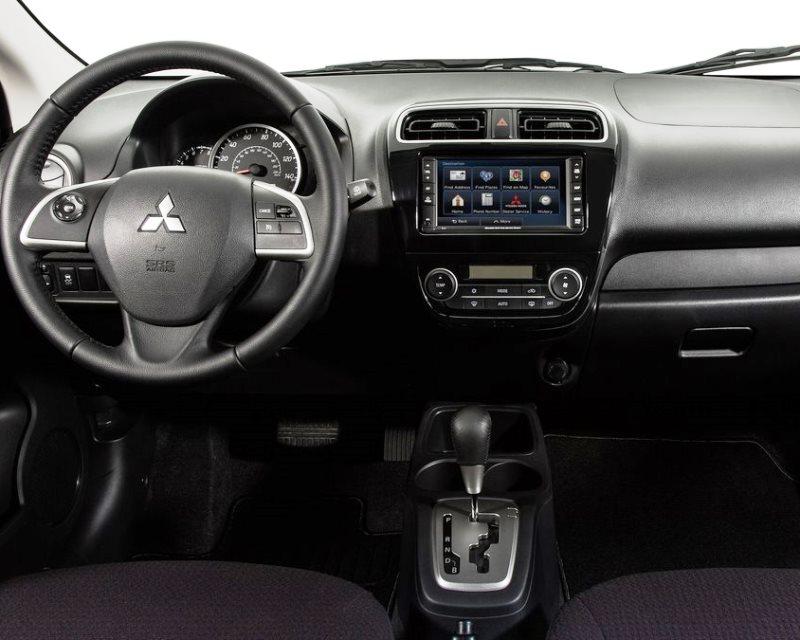 салон Mitsubishi Mirage 2014