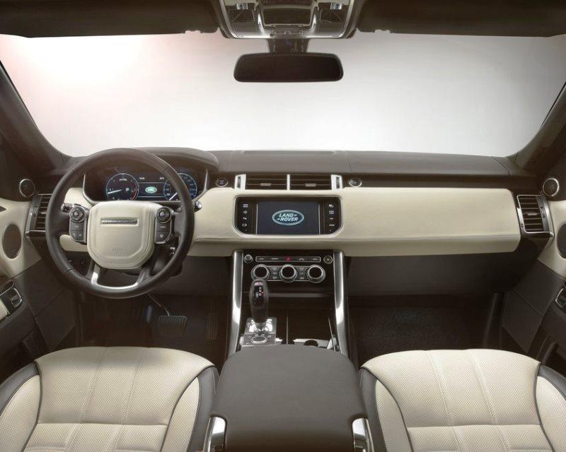 салон Range Rover Sport 2014