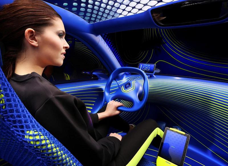 салон Renault Twin-Z Concept 2013