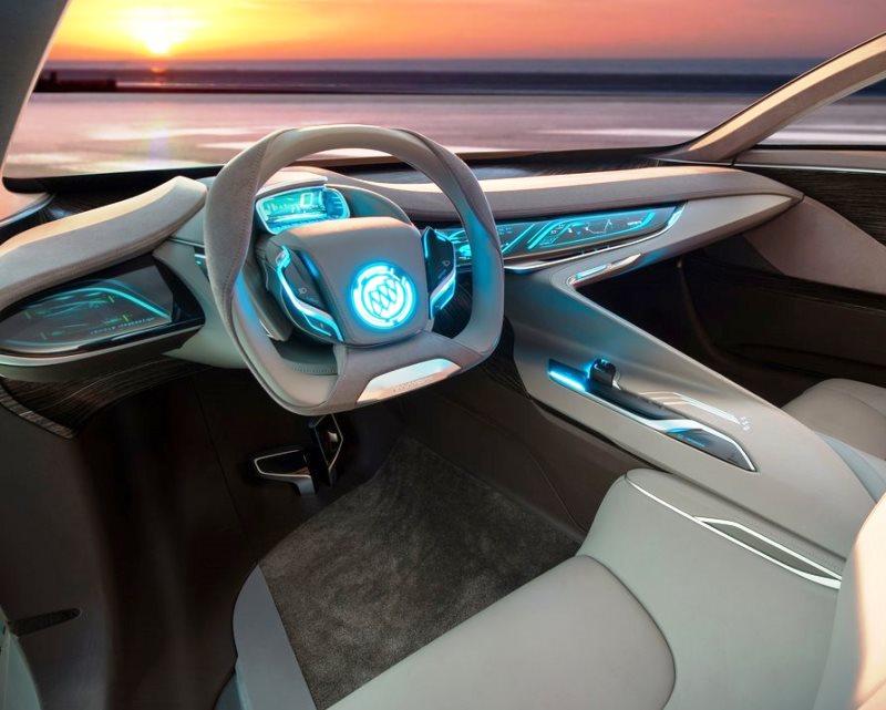 салон концепта Buick Riviera 2013