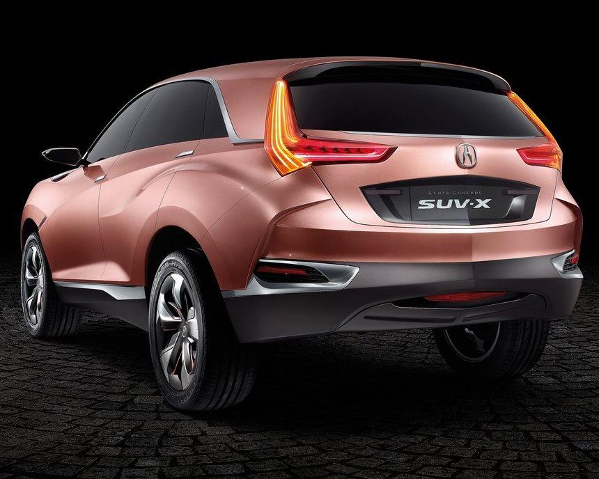задняя часть Acura SUV-X Concept 2013