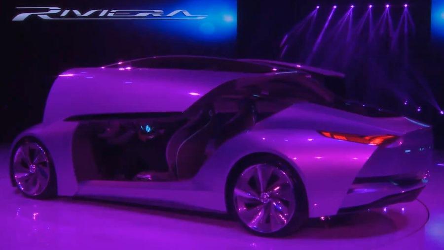 задняя часть Buick Riviera Concept 2013