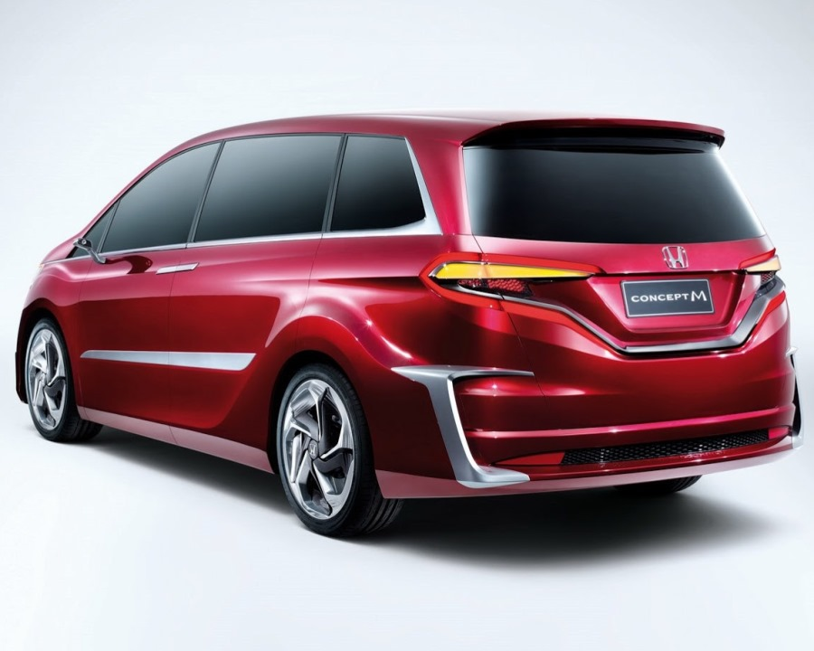 задняя часть Honda M Concept 2014
