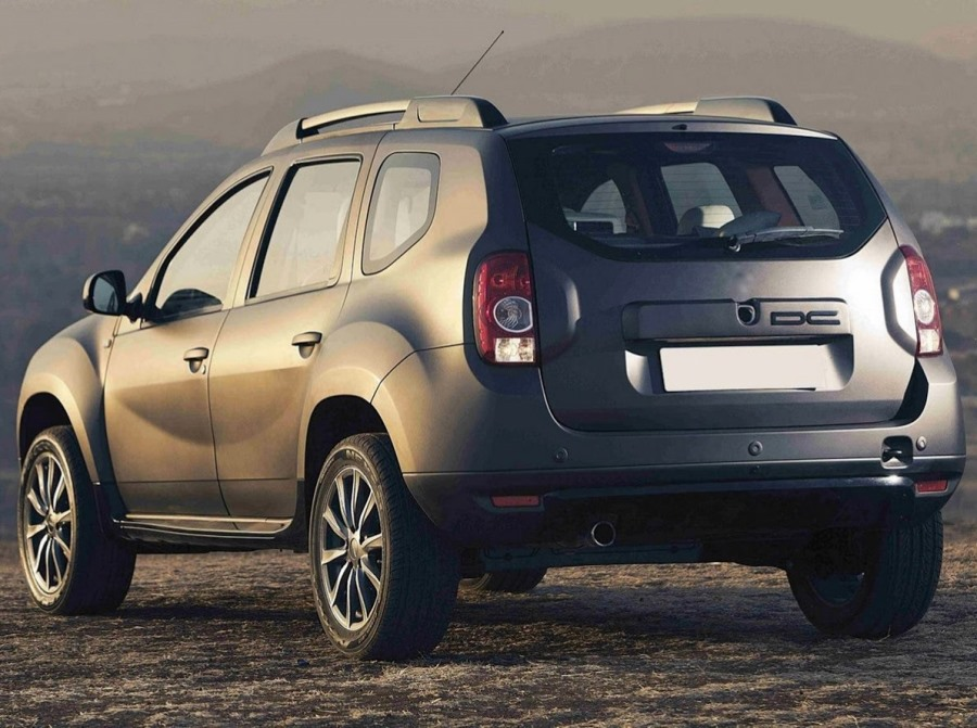 задняя часть Renault Duster DC Design
