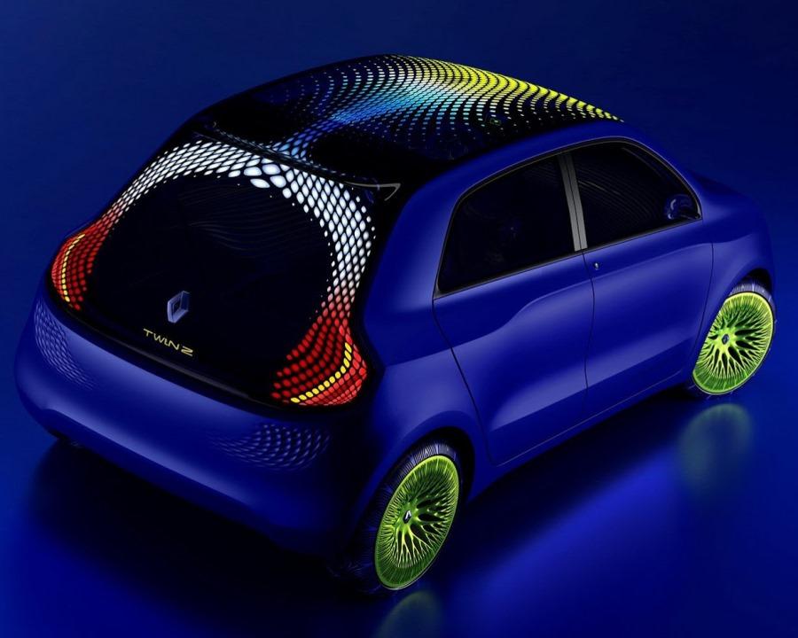 задняя часть Renault Twin-Z Concept 2013