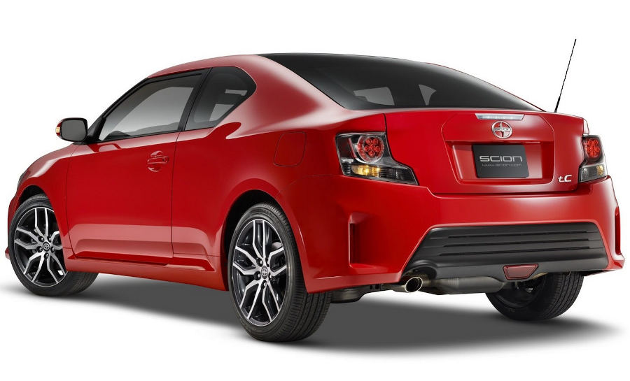 задняя часть Scion tC 2014