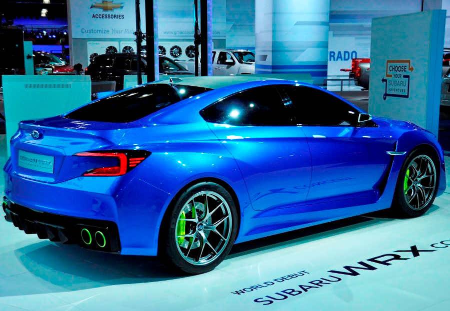 задняя часть Subaru WRX Concept 2013