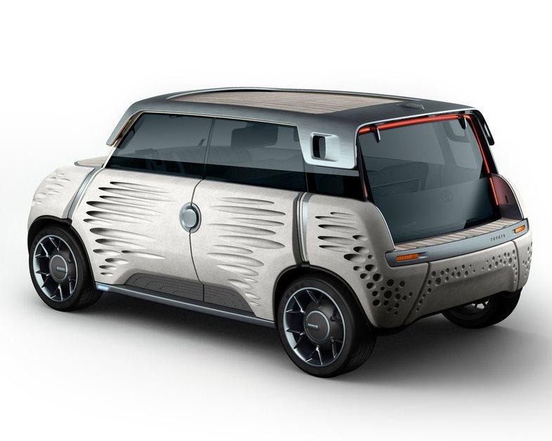 задняя часть Toyota ME.WE Concept 2013