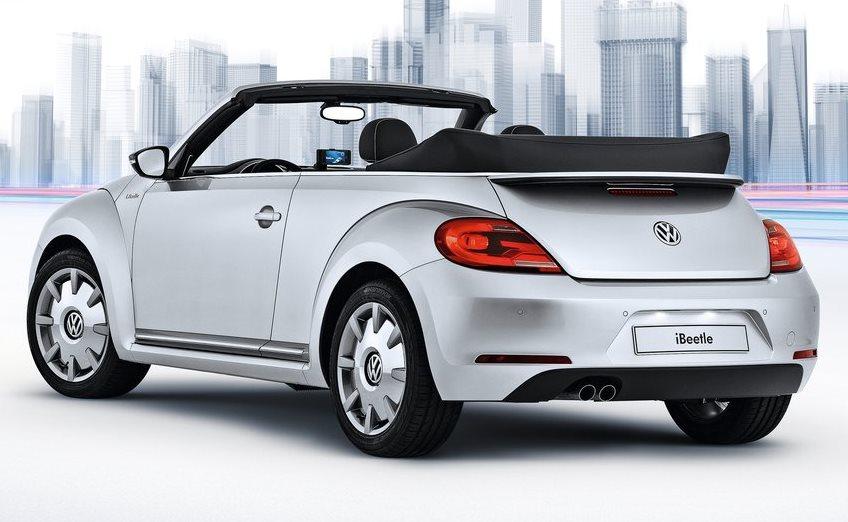 задняя часть Volkswagen iBeetle