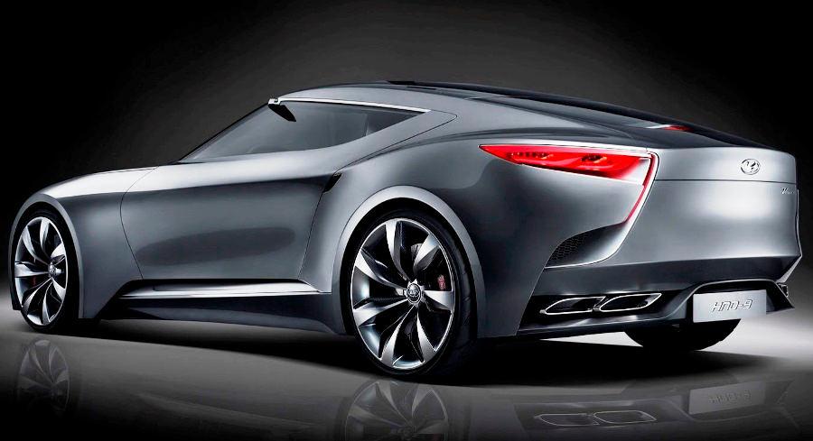 задняя часть концепта Hyundai HND-9