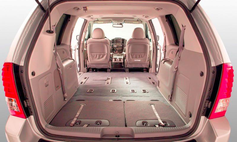багажник Kia Sedona 2014 года