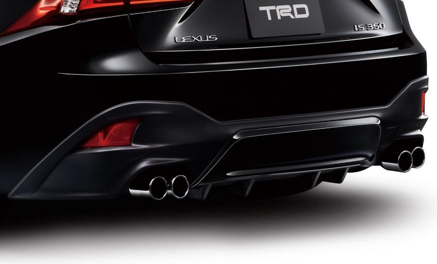 диффузор Lexus IS F Sport 2014 от TRD