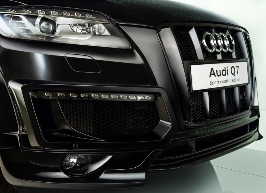 фары и бампер Audi Q7 Sport Quattro 2013
