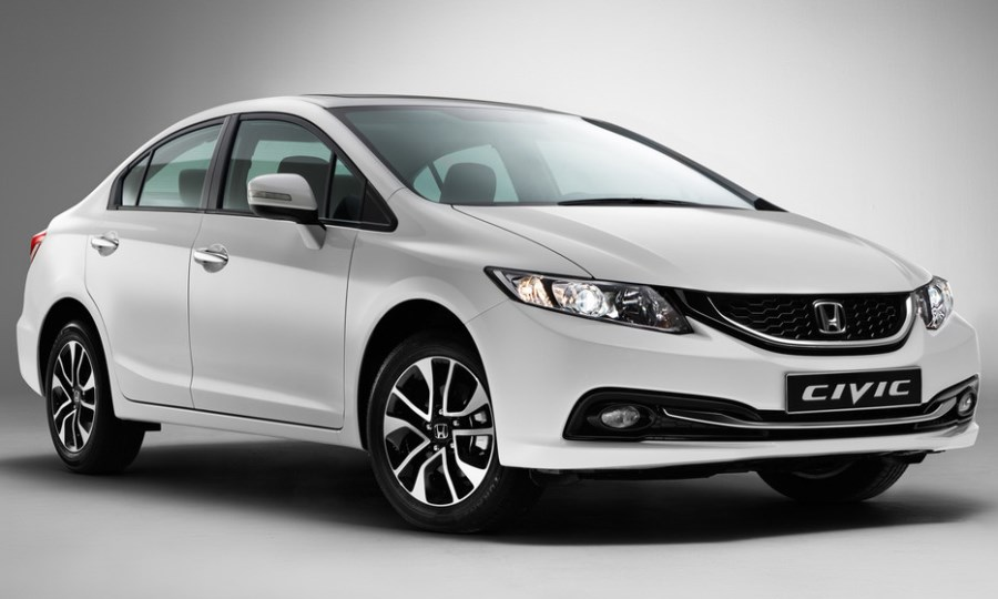 фары и бампер Honda Civic 4D 2013
