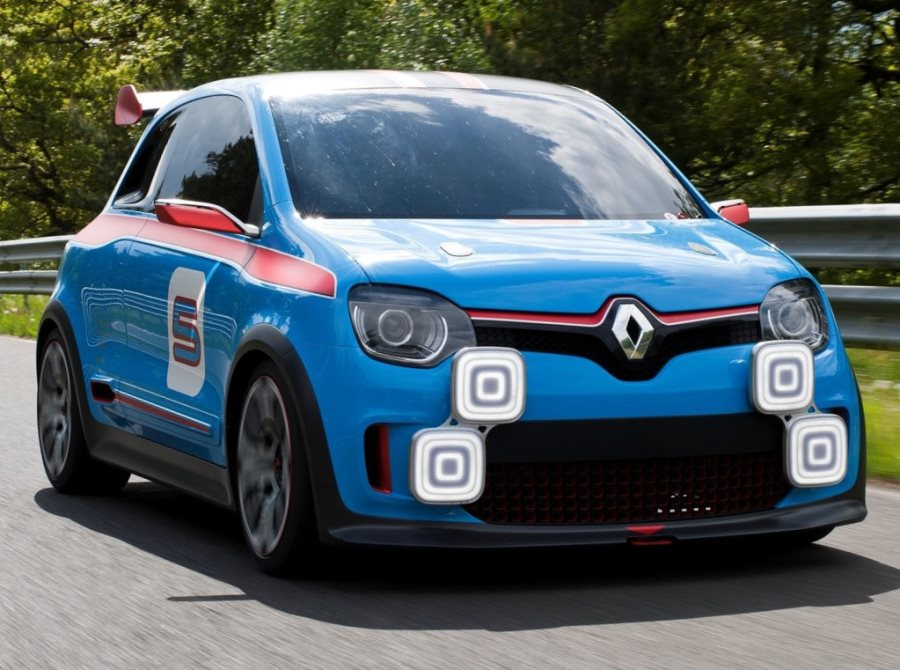 фары и бампер концепта Renault Twin-Run 2013