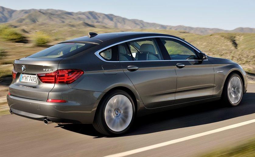 фото BMW 5-Series GT 2014 сбоку