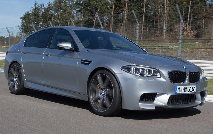 фото BMW M5 2014 сбоку