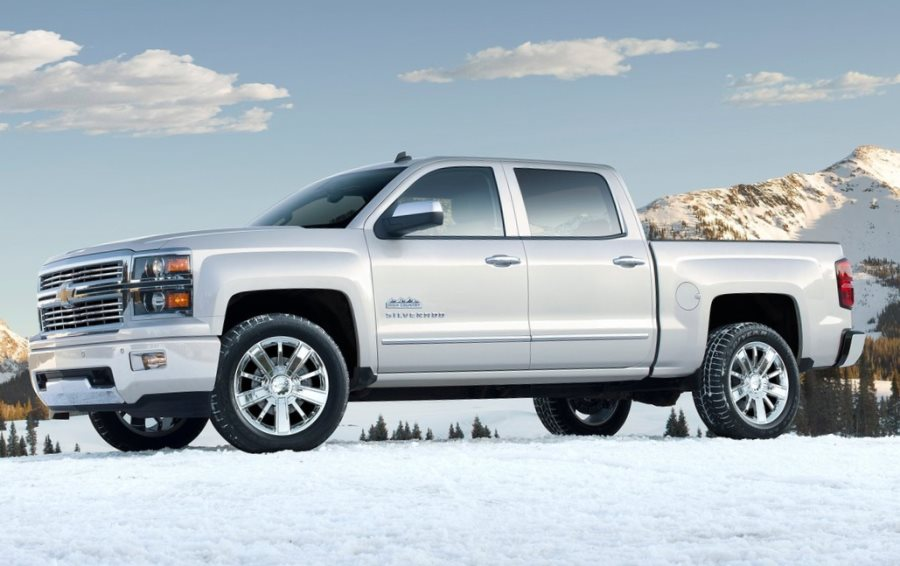 фото Chevrolet Silverado High Country 2014 сбоку