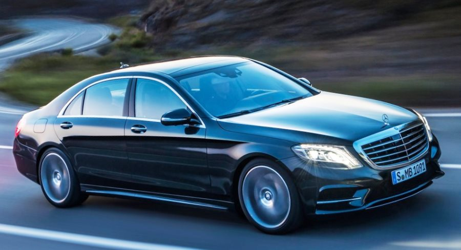 фото Mercedes S-Class 2014 сбоку