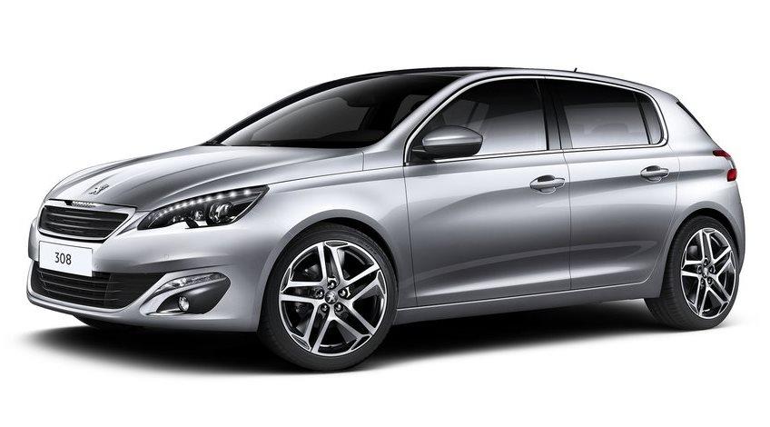 фото Peugeot 308 2014 сбоку