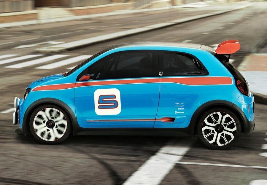 фото Renault Twin-Run Concept 2013 сбоку