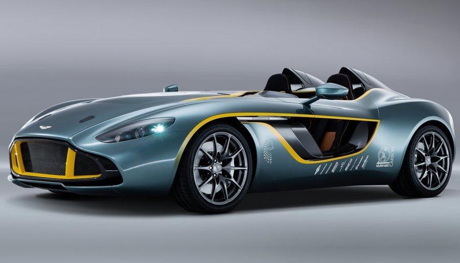 фото концепта Aston Martin CC100 Speedster 2013