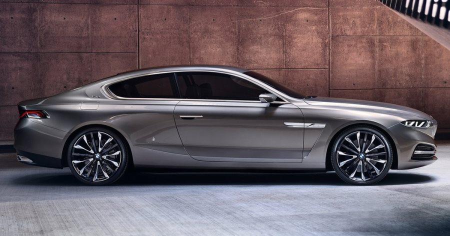 фото купе BMW Pininfarina Gran Lusso сбоку