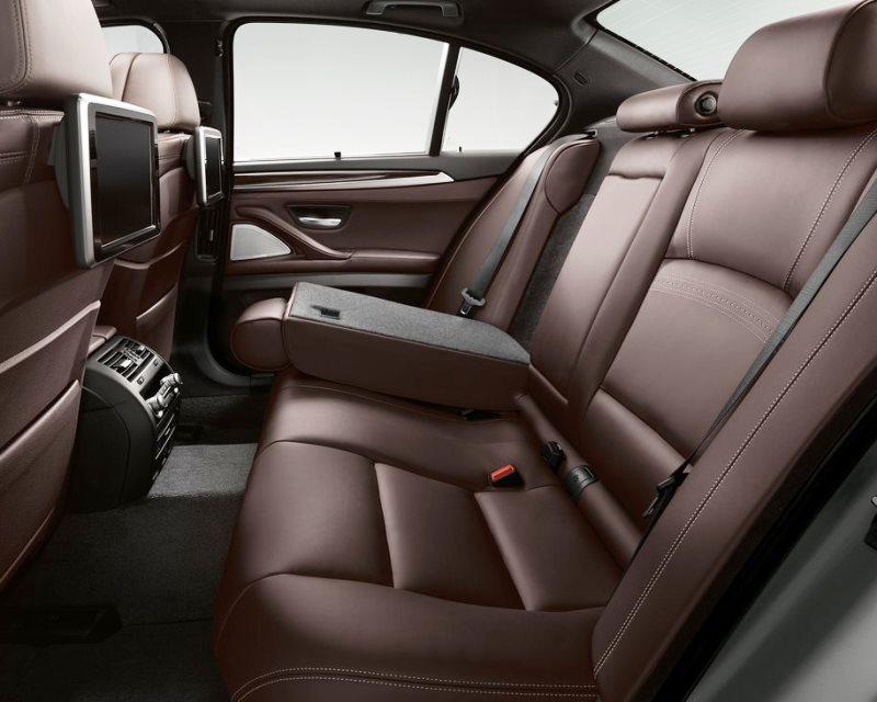 интерьер BMW 5-Series 2014