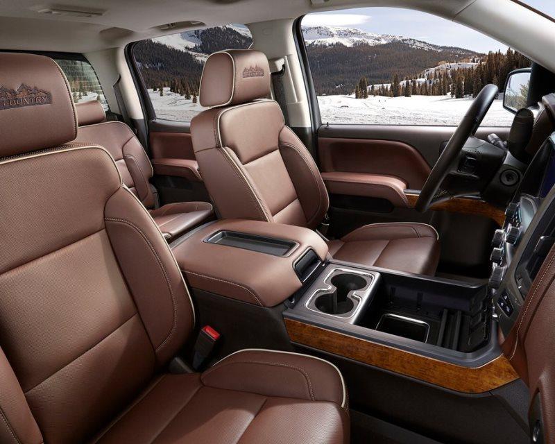 интерьер Chevrolet Silverado High Country 2014