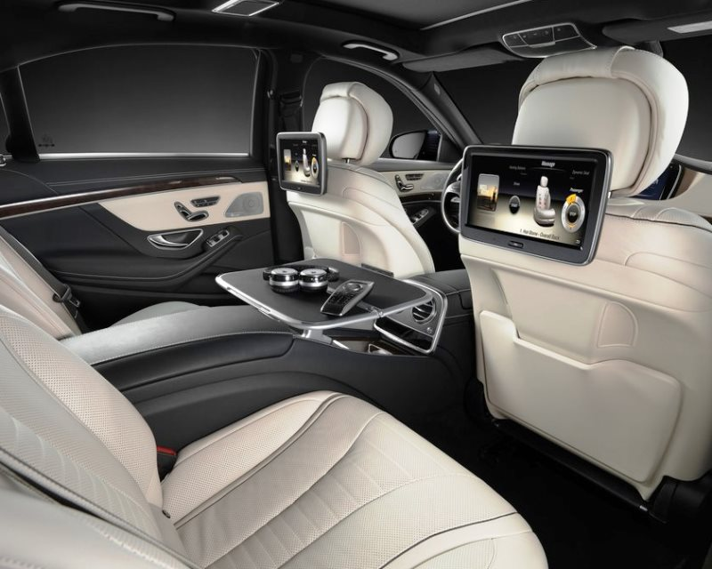 интерьер Mercedes S-Class 2014