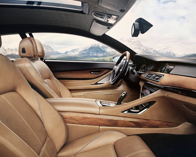 интерьер купе BMW Pininfarina Gran Lusso 2013