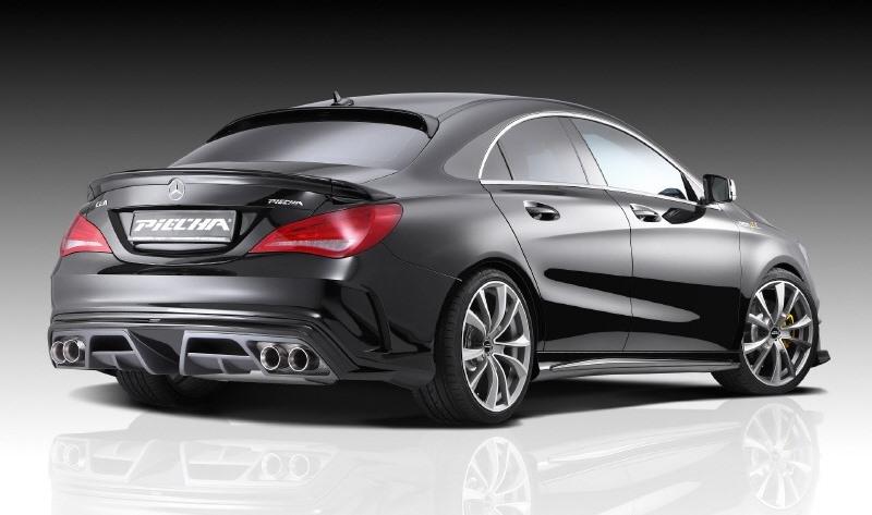 обвес Mercedes CLA GT-R от Piecha Design