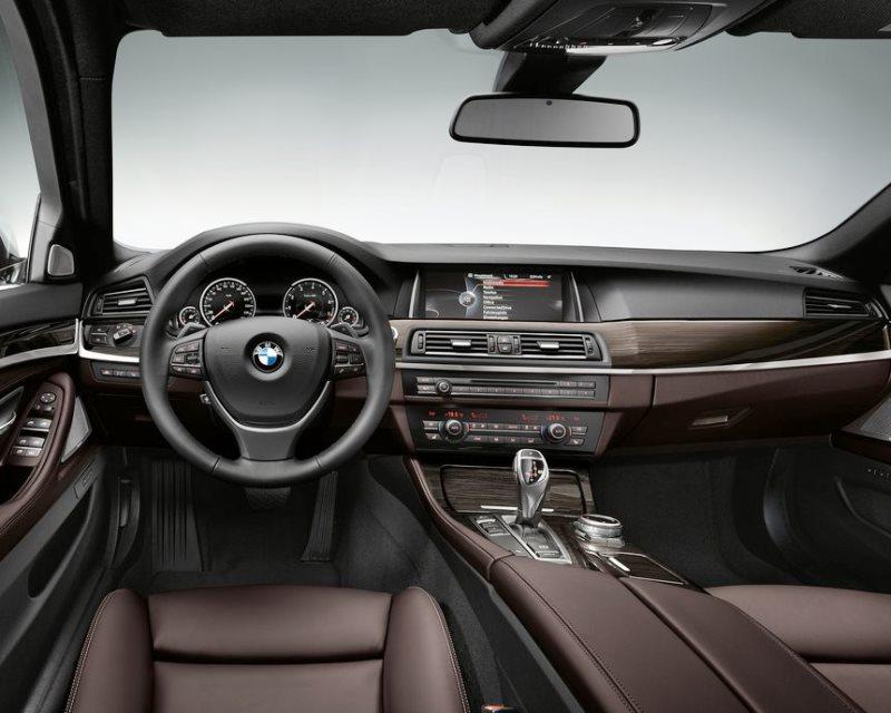 салон BMW 5-Series 2014